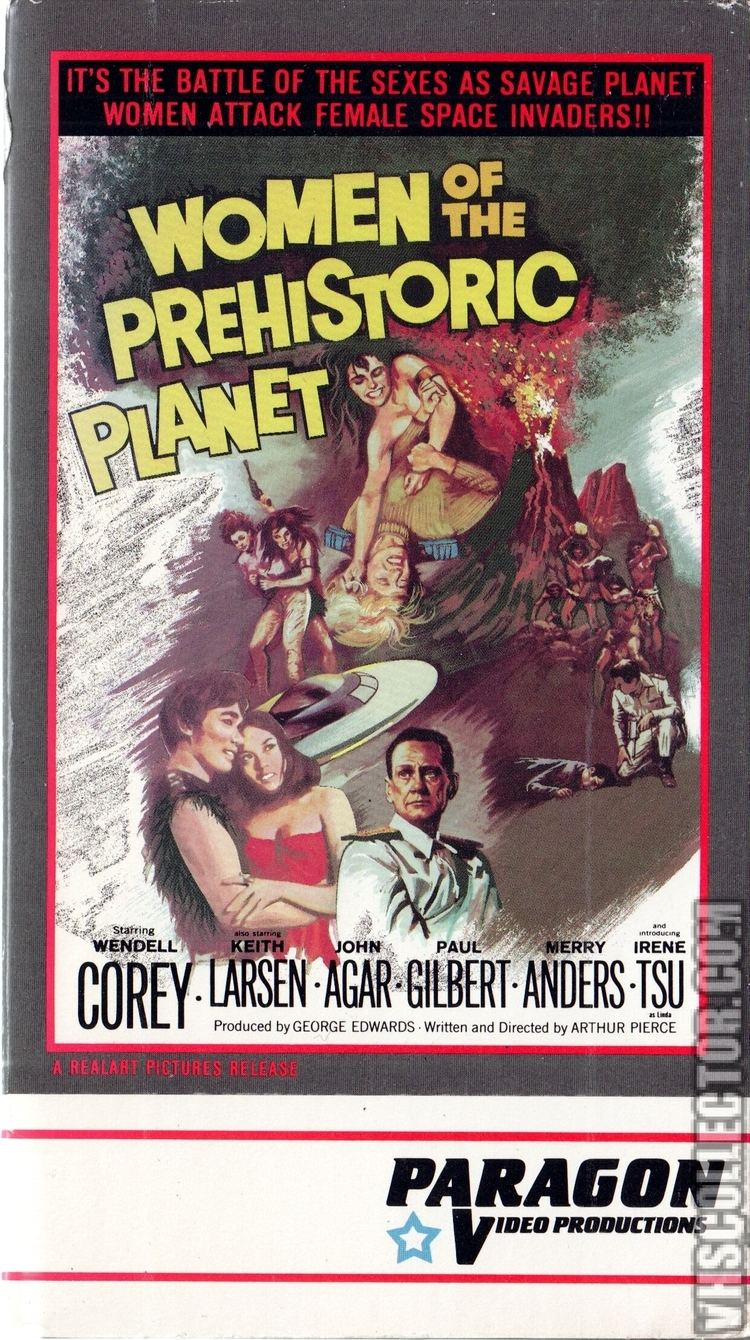 Women of the Prehistoric Planet VHSCollectorcom Your Analog