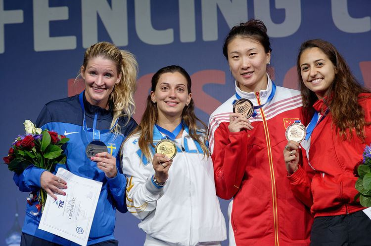 Women's épée at the 2015 World Fencing Championships