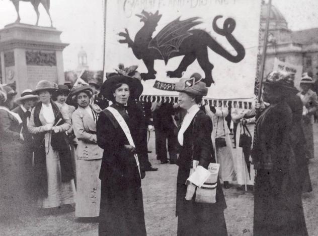 Women's suffrage in Wales