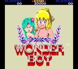 Wonder Boy Wonder Boy Videogame by Sega