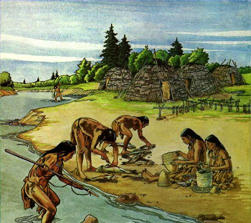 Woodland period Mound Builders North America Middle Woodland Period the Adena
