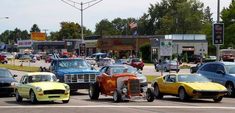 Woodward Dream Cruise Thousands of Classic Cars Hit Woodward Avenue Dream Cruise NBC News