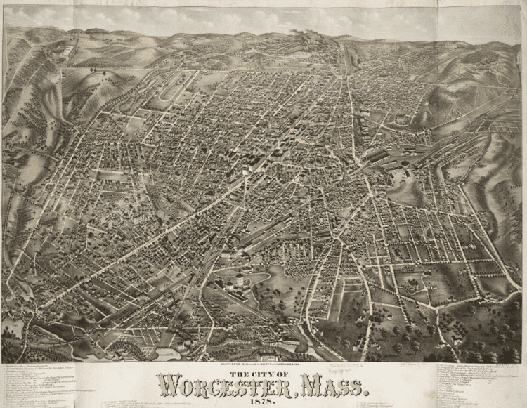 Worcester, Massachusetts in the past, History of Worcester, Massachusetts