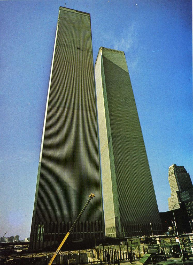 World Trade Center (1973–2001) NEW YORK Twin Towers of the WTC 13681362 feet 110 FLOORS