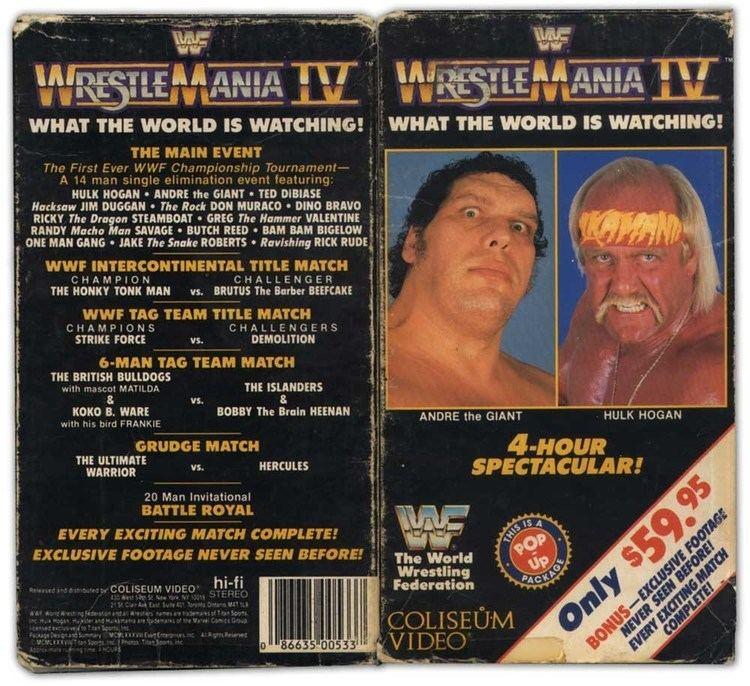 WrestleMania IV Alchetron, The Free Social Encyclopedia