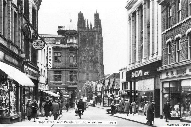 Wrexham in the past, History of Wrexham