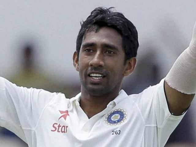 Wriddhiman Saha finally hits his stride with the bat against West