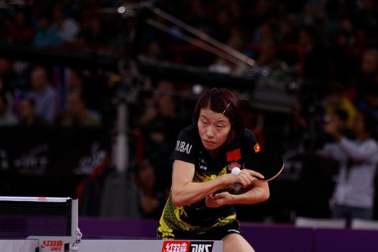 Wu Yang FileMondial Ping Women39s Singles Quarterfinal Wu