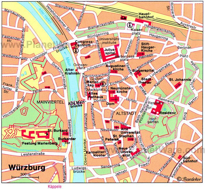 Wurzburg in the past, History of Wurzburg