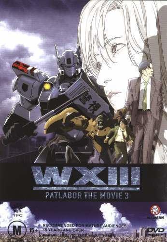 WXIII: Patlabor the Movie 3 WXIII Patlabor the Movie 3 2002