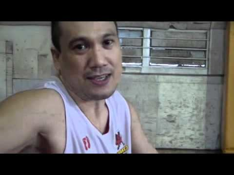 Wynne Arboleda Barako Bull point guard Wynne Arboleda talks about boxing