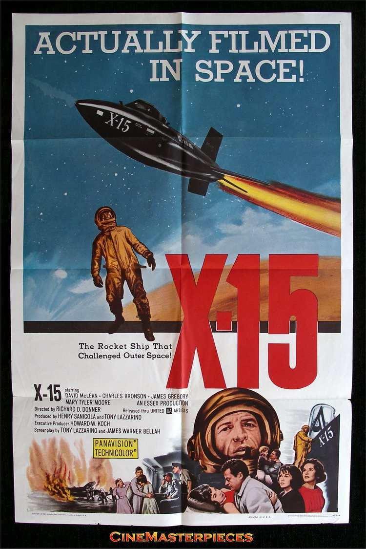 X-15 (film) X15 1961 Drama History Charles Bronson Mary Tyler Moore