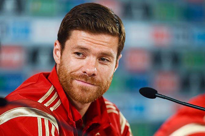 Xabi Alonso Xabi Alonso quits international football Rediffcom Sports
