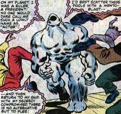 Xemnu Villains of Marvel Comics Xemnu the Titan
