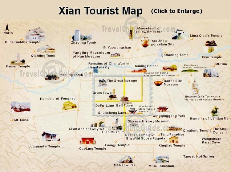 Xian Tourist places in Xian
