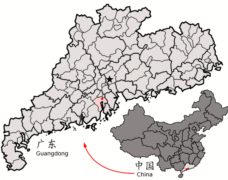 Xinhui District in the past, History of Xinhui District