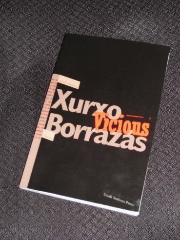 Xurxo Borrazás Vicious by Xurxo Borrazs Review Tonys Reading List