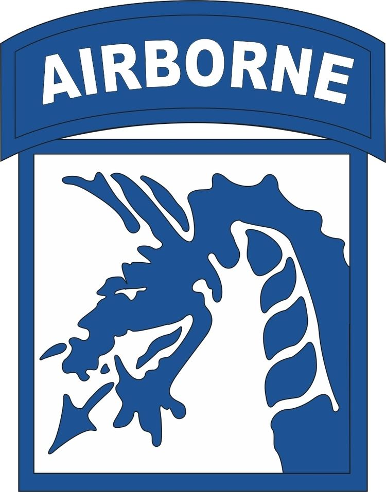 XVIII Airborne Corps Airborne Corps Patch Vinyl Transfer Decal