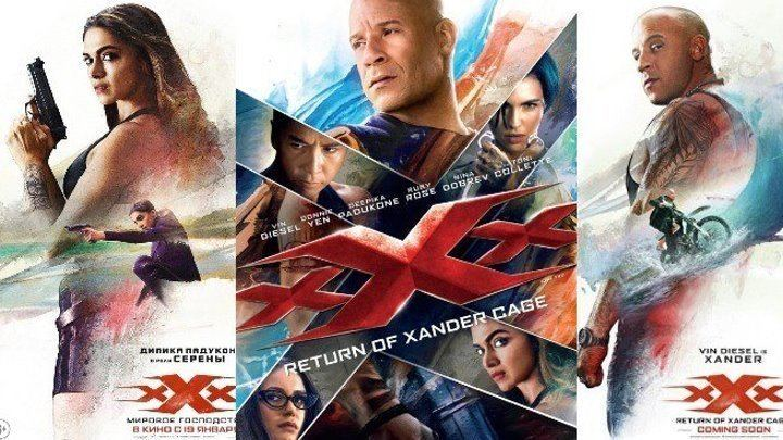 XXX (film series)Return of Xander Cage (2017) poster