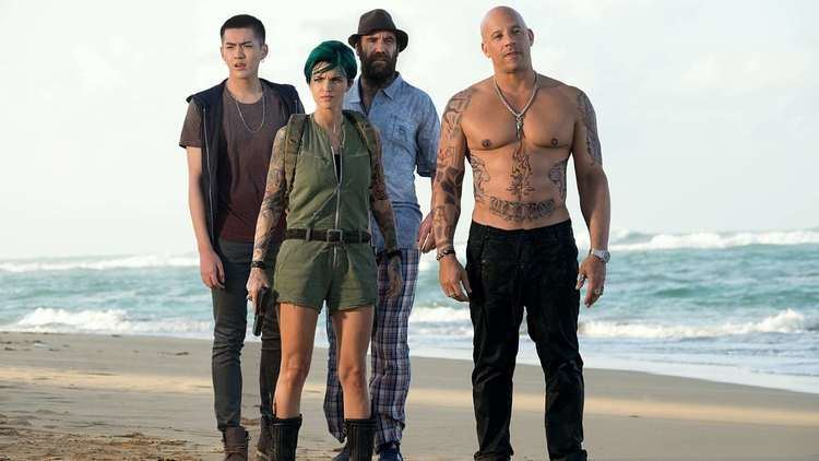 Kris Wu, Ruby Rose, Rory McCann and Vin Diesel in a scene from the 2017 movie, XXX: Return of Xander Cage