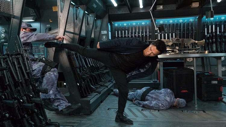 Donnie Yen in a scene from the 2017 movie, XXX: Return of Xander Cage