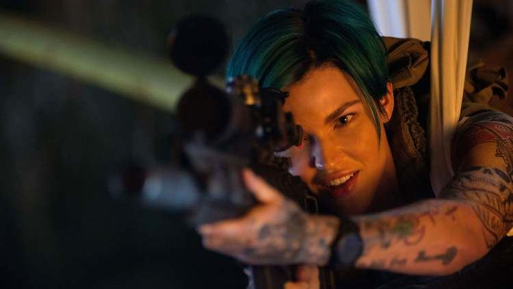 Ruby Rose in a scene from the 2017 movie, XXX: Return of Xander Cage
