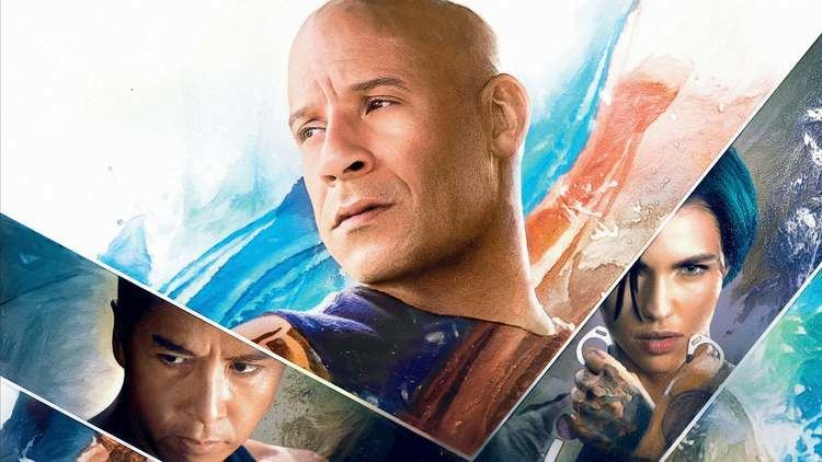Vin Diesel, Donnie Yen and Ruby Rose in the film XXX: Return of Xander Cage