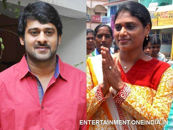 Y. S. Sharmila Prabhas Denies His Alleged Relationship With YS Sharmila
