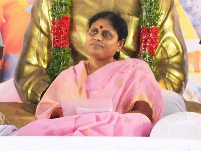 Y. S. Vijayamma Y S Vijayamma rested in Politics ApNewsCorNer