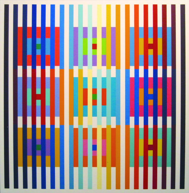 Yaacov Agam Yaacov Agam Works on Paper from the David Goodman Collection