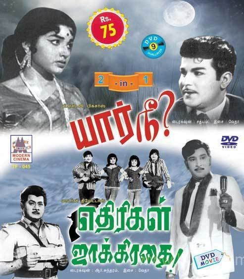 Yaar Nee? Yaar Nee Ethirigal Jakkirathai Tamil Movie DVD