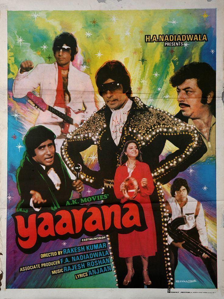 Yaarana (1981 film) 537 best Amitabh Bachchan Bollywood Posters images on Pinterest