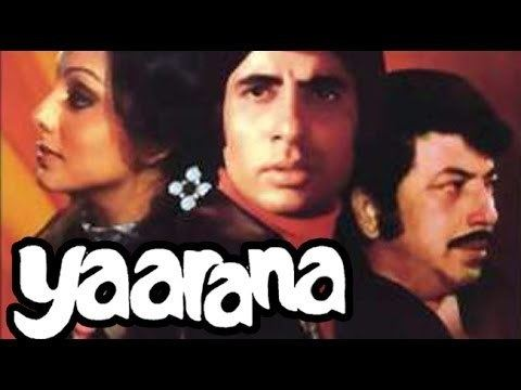 Yaarana (1981 film) Yaarana 1981 Full Movie Amitabh Bachchan Amjad Khan Neetu