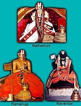 Yamunacharya Yamunacharya to Aalavandar The Acharyar who was guru of Swami