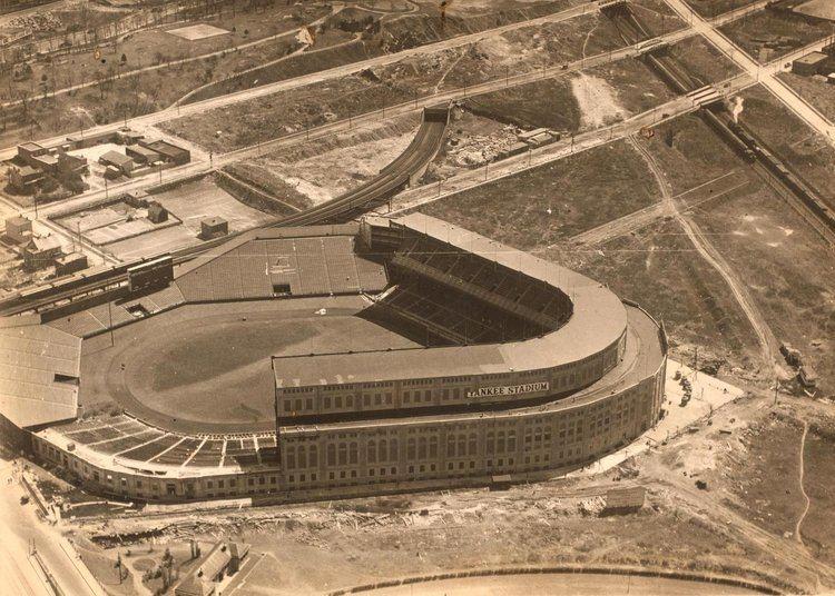 Yankee Stadium (1923) The Original Yankee Stadium Photographs and Memories Stuff