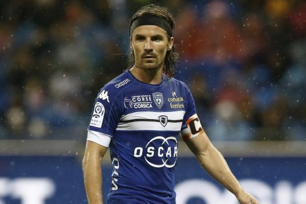 Yannick Cahuzac Foot Ligue 1 Bastia Bastia Yannick Cahuzac est touch