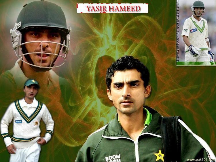 Yasir Hameed (Cricketer)