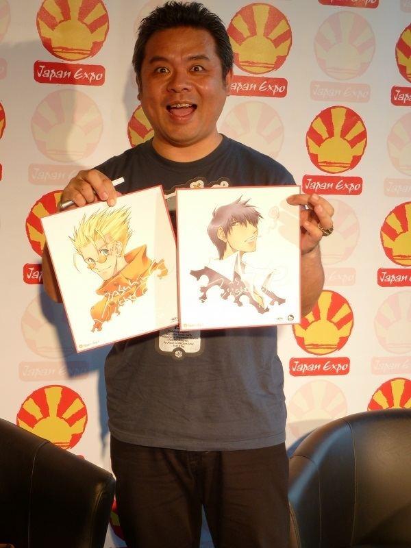 Yasuhiro Nightow NIGHTOW Yasuhiro Interview Manga news