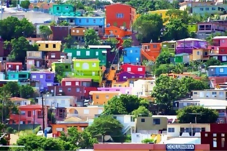 en el CERRO DE YAUCO Yauco Puerto Rico Vista De La