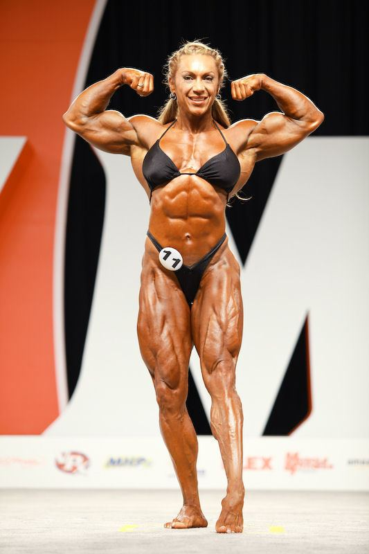 Yaxeni Oriquen-Garcia IFBB Professional League 2009 Ms Olympia Competitor