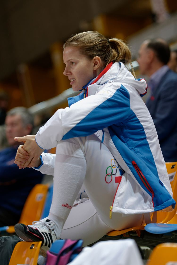 Yekaterina Dyachenko FileYekaterina Dyachenko 2014 Orleans Sabre Grand Prix t115253jpg