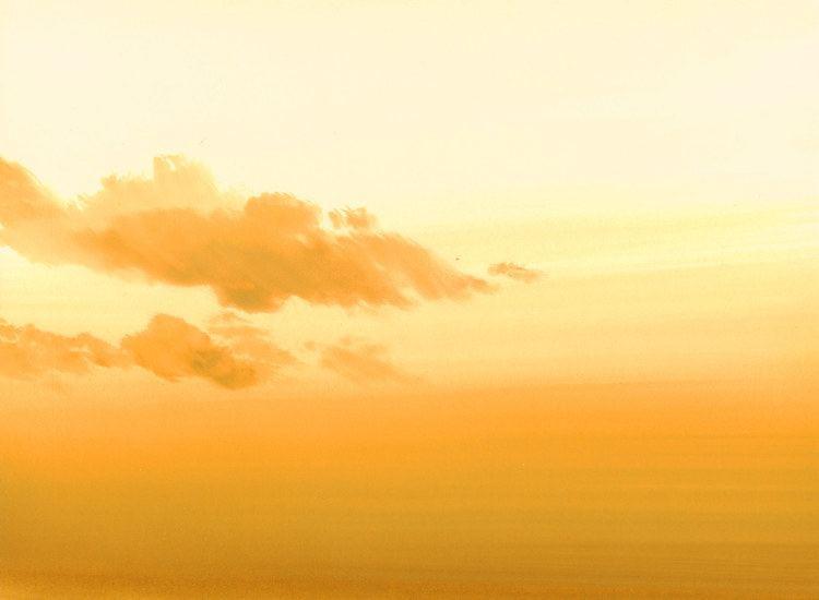 Yellow Sky Yellow sky 2388 x 1750 lonelymountain of Anime Cel Backgrounds