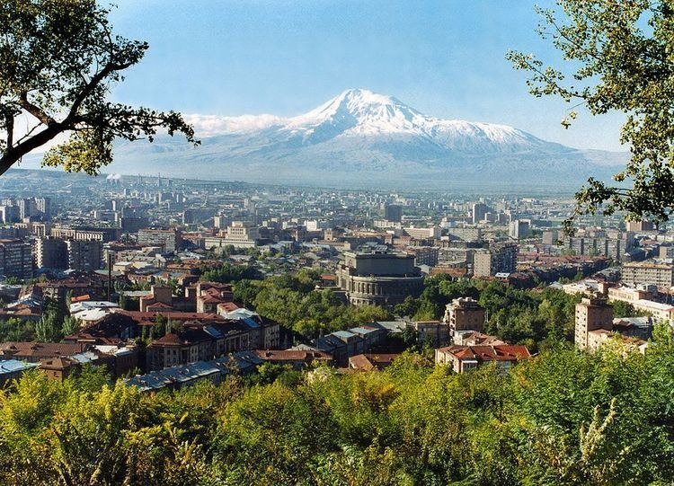 Yerevan Beautiful Landscapes of Yerevan