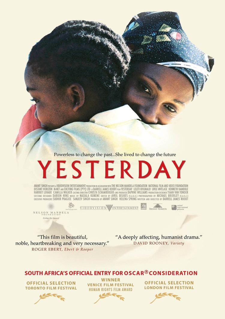Yesterday (2004 film) Yesterday DVD PLANET STORE