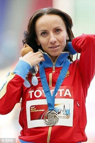 Yevgeniya Pecherina Yevgeniya Pecherina claims 99 per cent of Russian athletes take