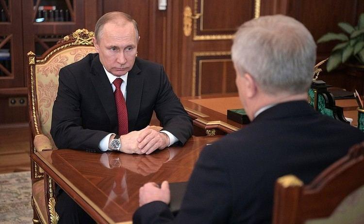 Yevgeny Savchenko Working meeting with Belgorod Region Governor Yevgeny Savchenko