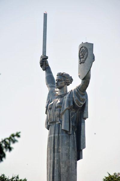 Yevgeny Vuchetich Motherlandquot statue by Yevgeny Vuchetich photo Brian