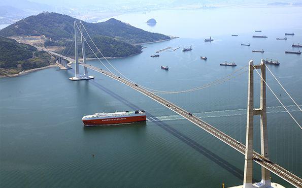 Yi Sun-sin Bridge Tourist Attraction Ten views of Yeosu Yi Sunsin Bridge