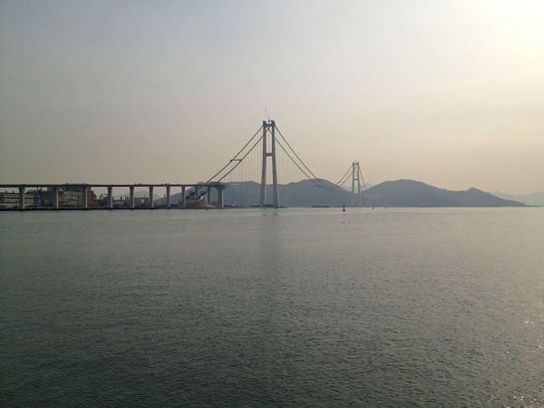 Yi Sun-sin Bridge Yi SunSin Bridge YeosuGwangyang 2012 Structurae