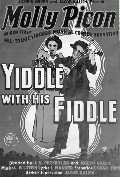 Yiddle with His Fiddle Musical Yiddle With his Fiddle to get stage reading at BIFF